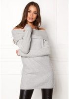 Only Celia L/s Long Pullover White M
