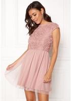 Bubbleroom Ayla Dress Dusty Pink 42