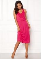 Jacqueline De Yong Dodo S/l Dress Rasberry Sorbet S