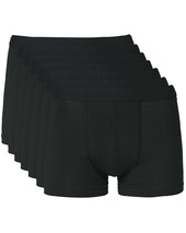 Bread & Boxers 7-pack Boxer Brief Black