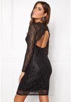 Only New Lisa L/s Dress Black Xs