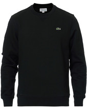 Lacoste Crew Neck Sweatshirt Black
