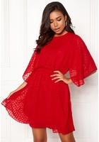 Y.a.s Scarlet Ss Dress Flame Scarlet L