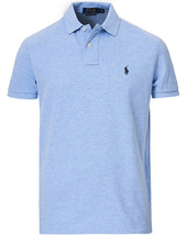 Polo Ralph Lauren Custom Slim Fit Polo Jamaica Heather