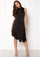 Vero Moda Kylie Sl Frill Knee Dress Black 40