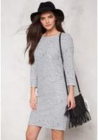 Ichi Paloma Dress 10111 Cloud Dancer Xs