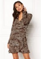 Vila Kacy L/s Wrap Dress Black L