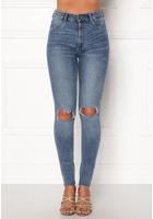 Cheap Monday High Spray Cut Off Jeans Blue W26/27
