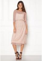 Vila Kyle Long 3/4 Dress Peach Blush S