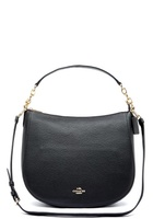 Coach Chelsey Leather Bag Liblk Black One Size