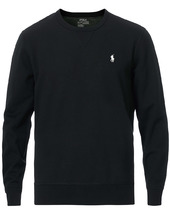 Polo Ralph Lauren Tech Crew Neck Sweatshirt Black