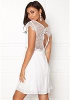 Dry Lake Valerie Dress White Xs