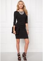 Vila Nimas Detail Dress Black M