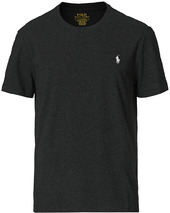 Polo Ralph Lauren Crew Neck Tee Black Marl Heather