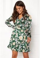 Vila Barima L/s Wrap Dress Pine Grove L