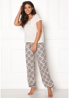Odd Molly Sleepy Molly Pyjamas Set Light Chalk L (3)