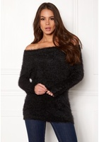 Only Gaia L/s Off Shoulder Black L