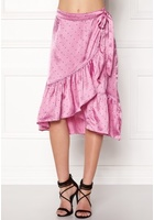 Vero Moda Henna Satin Wrap Skirt Opera Mauve S
