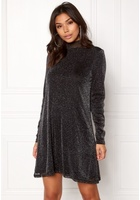 Vila Glori Vang L/s Dress Black Xs