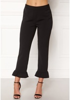 Object Camille Ruffle Pants Black 34