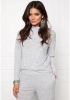 Vila Lune Knit Top Light Grey Mel. Xl