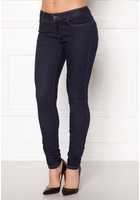 Object Skinny Sally Rinse Jeans Dark Blue Denim 25/32