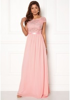 Chiara Forthi Viviere Sparkling Gown Pink 36