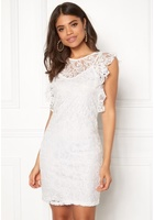 Vero Moda Thea Short Lace Dress Snow White L