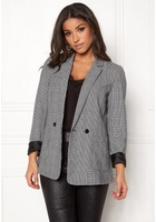 Vero Moda Check Button L/s Blazer Snow White 34
