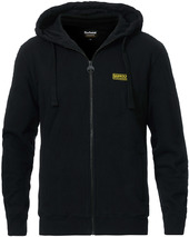 Barbour International Essential Full Zip Hoodie Black
