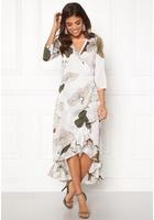 Object Pantheon 3/4 Maxi Dress Gardenia 38