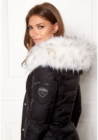 Rockandblue Faux Fur Trim Bleached One Size