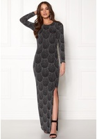 Sisters Point Gelly Dress 001 Black/silv S
