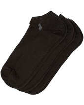 Polo Ralph Lauren 3-pack Ghost Sock Black