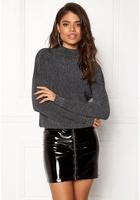 Jacqueline De Yong Julia L/s Pullover Black/silver L