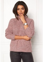 Object Patricia Knit Pullover Withered Rose Xs