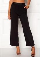 Vila Split Flared Pants Black Xl
