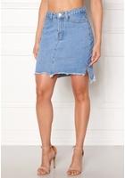Vila Jules Hw Slit Skirt Light Blue Denim 31