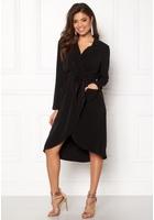 Object Nell L/s Long Dress Black 38