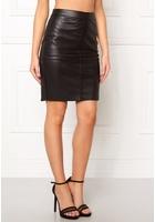 Vero Moda Clara Pu Skirt Black M