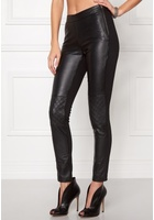 Object Jasmin Leather Leggings Black 34