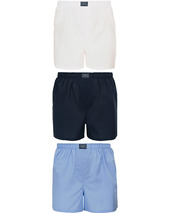 Polo Ralph Lauren 3-pack Woven Boxer White/blue/navy