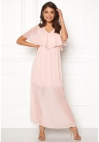 Vero Moda Dora Ss Long Dress Sepia Rose M