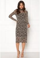 Object Mariann L/s Long Dress Black Xs