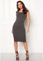 Only Mallika Capsleeve Dress Dark Grey Melange M