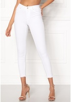 Only Blush Mid Ankle Jeans White Xs/32