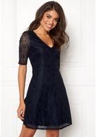 Vila Frej 2/4 Short Dress Total Eclipse Xs