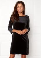 Vila Sienna 3/4 Sleeve Dress Black Xs