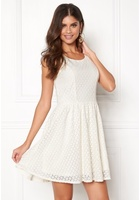 Only Line Fairy Lace Dress Whisper White 36