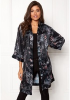 Sisters Point Nali-1 Cardigan 001 Black/flower S